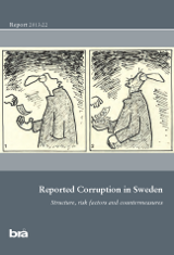 Cover of the report Reported Corruption in Sweden