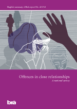 Cover of the publication Offences in close relationships