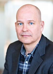 Jonas Öberg, utredare på Brå.