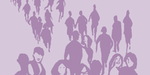 Illustration of people, taken from the cover of The Swedish Crime Survey 2013